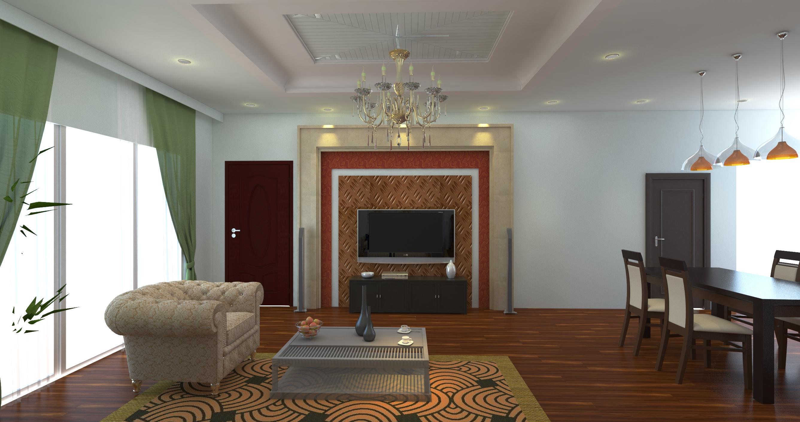 Dự án phòng khách chung cư