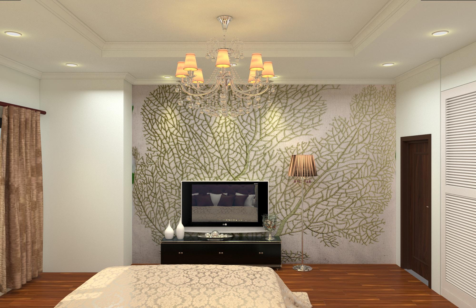 Thiết kế phòng ngủ khách sạn-chung cư